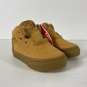 Vans Half Cab Vansbuck Light Gum Sneakers